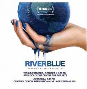 affiche du documentaire River Blue sur la fast-fashion