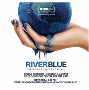 riverblue documentary poster