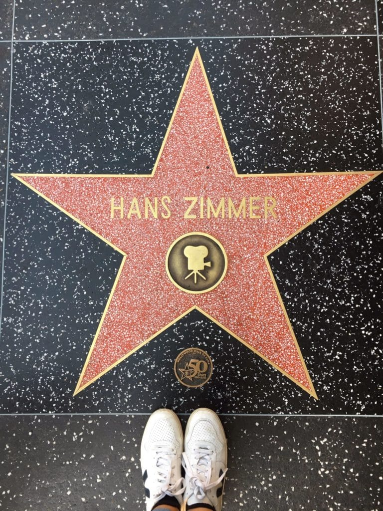hans zimmer walk of fame green city guide los angeles