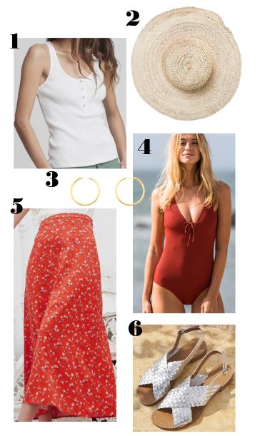 Look éthique pour l'été 3 sur le thème d'une virée à la plage